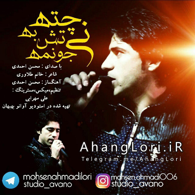 CoverMA دانلود آهنگ لری جدید محسن احمدی به نام نی چته