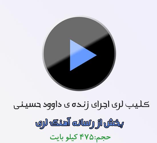 کلیپ بسیار زیبای اجرای زنده داوود حسینی